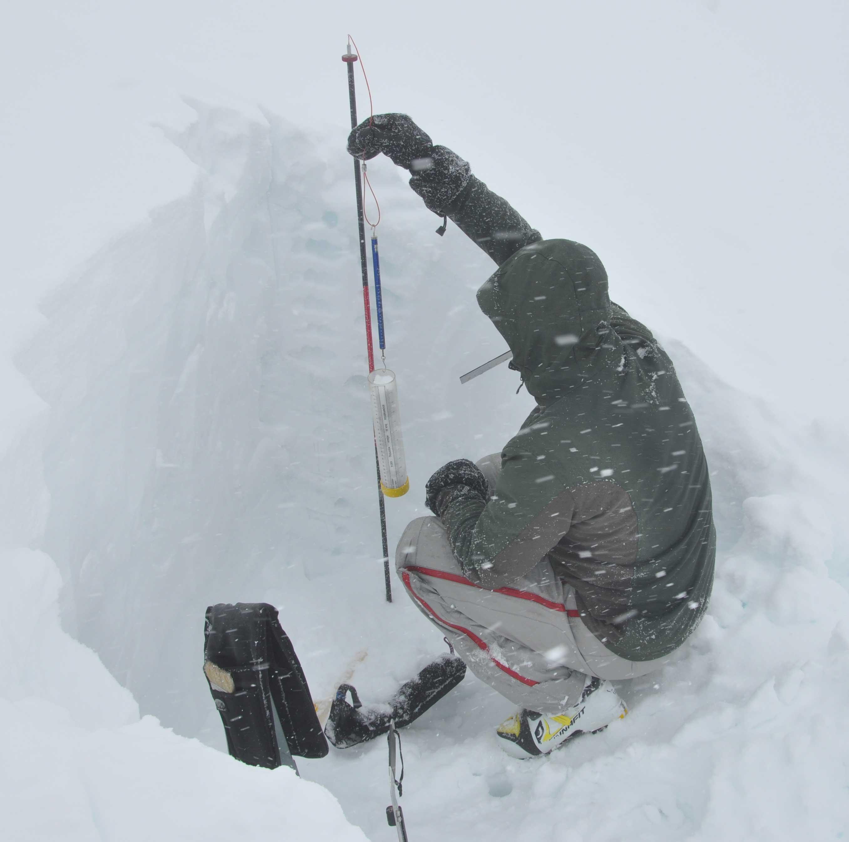 Build your own snowpit kit